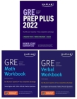 GRE Complete 2022: 3-Book Set: 6 Practice Tests + Proven Strategies + Online (Kaplan Test Prep) Cover Image