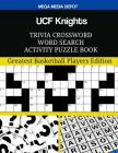 UCF Knights Trivia Crossword Word Search Activity Puzzle Book Cover Image