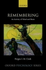 Remembering: An Activity of Mind and Brain (Oxford Psychology) Cover Image