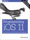 Programming IOS 11: Dive Deep Into Views, View Controllers, and Frameworks Cover Image