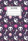 Halloween Composition Notebook: College Ruled Study Skill School Supplies for Student Cover Image