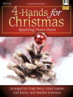 4-Hands for Christmas: Sparkling Piano Duets Cover Image