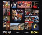 Star Trek Cats 1000-Piece Puzzle Cover Image