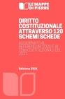 Diritto Costituzionale Attraverso 120 Schemi Schede: Aggiornato al Referendum 2020 e ai temi costituzionali del 2021 Cover Image
