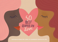 50 Best Quotes on Love: Contains 50 Postcards, 50 Legendary Quotes on Love Cover Image