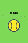 Tennis: Sports Student Athlete Small Lined Notebook for Men / Women / School 6