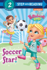 Soccer Star! (Butterbean's Cafe) (Step into Reading) Cover Image