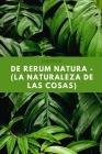 De rerum natura - (la naturaleza de las cosas): Lucrecio Cover Image
