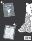 Ver*iss dich! Färbe deine Stimmung glücklich: Schimpfwort-Malbuch-Seiten für Erwachsene (graue Ausgabe) mit verdammt entzückenden Mustern und Designs Cover Image