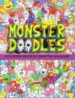 Doodle monsters coloring book Paperback Cover Image