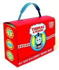 Thomas and Friends: My Red Railway Book Box (Thomas & Friends): Go, Train, GO!; Stop, Train, Stop!; A Crack in the Track!; and Blue Train, Green Train (Bright & Early Board Books(TM)) Cover Image