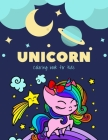Unicorn coloring book for kids: A Little Unicorn coloring books for kids ages 4-8 years - Improve imagination and Relaxing (Book6) Cover Image