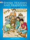 Jewish Holidays and Traditions Coloring Book (Dover Holiday Coloring Book) Cover Image