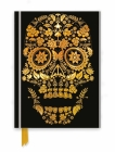 Gold Sugar Skull (Foiled Journal) (Flame Tree Notebooks) Cover Image
