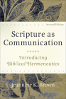 Scripture as Communication Cover Image