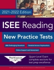 ISEE Reading: New Practice Tests, 2021-2022 Edition Cover Image