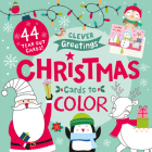 Christmas Cards to Color: 44 Tear Out Cards! (Clever Greetings) Cover Image