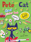 Pete the Cat Giant Sticker Book Cover Image