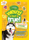 Weird But True Cool and Crazy Sticker Doodle Book Cover Image