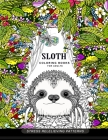 Sloth Coloring Book for Adults: (Animal Coloring Books for Adults) Cover Image