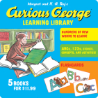 Curious George Learning Library Cover Image