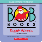 Bob Books - Sight Words Kindergarten Box Set | Phonics, Ages 4 and up, Kindergarten, Flashcards (Stage 2: Emerging Reader) Cover Image