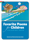 Favorite Poems for Children Coloring Book (Dover Classic Stories Coloring Book) Cover Image