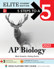 5 Steps to a 5: AP Biology 2022 Elite Student Edition Cover Image