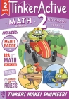 TinkerActive Workbooks: 2nd Grade Math Cover Image