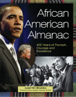 African American Almanac: 400 Years of Triumph, Courage and Excellence Cover Image