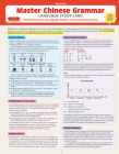Mandarin Chinese Grammar Study Card: Essential Grammar Points for Hsk and AP Tests (Includes Online Audio) Cover Image