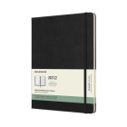 Moleskine 2021-2022 Weekly Planner, 18M, Extra Large, Black, Hard Cover (7.5 x 10) Cover Image