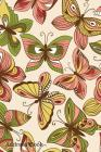 Address Book: For Contacts, Addresses, Phone, Email, Note, Emergency Contacts, Alphabetical Index With Cute Butterflies Background Cover Image