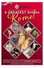 4 Greatest Artists of Rome: Finding Michelangelo, Caravaggio, Raphael & Bernini (Skinny Books) Cover Image