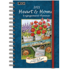 Heart & Home(r) 2021 Spiral Engagement Planner Cover Image