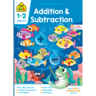 Addition & Subtraction 1-2 Deluxe Edition Workbook Cover Image