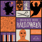 Decorate Your Halloween: An Adult Coloring Book of Halloween Crafts Cover Image