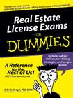 Real Estate License Exams For Dummies Cover Image