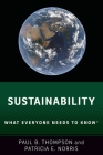 Sustainability: What Everyone Needs to Know(r) Cover Image
