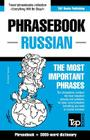 English-Russian phrasebook and 3000-word topical vocabulary Cover Image