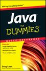 Java for Dummies Quick Reference (For Dummies: Quick Reference (Computers)) Cover Image