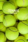 Tennis Notebook: Coach Girls Tennis Notebook Birthday Gift Cover Image