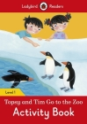 Topsy and Tim: Go to the Zoo Activity Book – Ladybird Readers Level 1 Cover Image