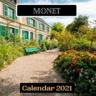 Monet Calendar 2021 Cover Image