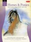 Pastel: Horses & Ponies (How to Draw & Paint) Cover Image