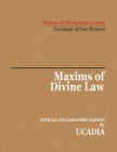 Maxims of Divine Law Cover Image