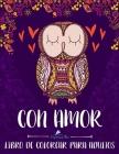 Con Amor: Libro De Colorear Para Adultos Cover Image