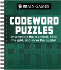 Brain Games - Codeword Puzzle: Unscramble the Alphabet, Fill in the Grid, and Solve the Puzzle! Cover Image
