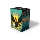 Percy Jackson and the Olympians 5 Book Paperback Boxed Set (new covers w/poster) (Percy Jackson & the Olympians) Cover Image