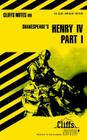 CliffsNotes on Shakespeare's Henry IV, Part 1 Cover Image